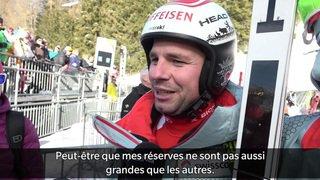 Ski alpin: impressions de Beat Feuz, qui a dominé le premier entraînement à Wengen