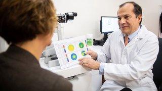 Corriger la vue  avec la chirurgie réfractive