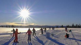 La Chaux-de-Fonds: le ski de fond, ça glisse énormément!