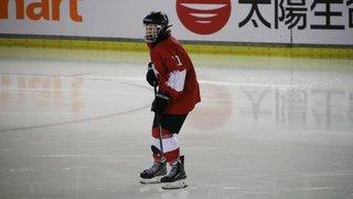 La jeune hockeyeuse Jade Surdez est sur la voie olympique