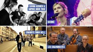 Nos concerts coups de cœur pour ce début d'année dans le canton de Neuchâtel