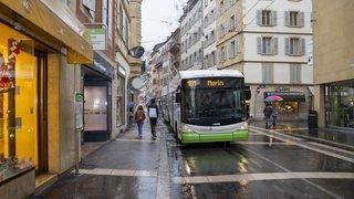 Neuchâtel: chauffeurs mitigés à propos de la rue du Seyon sans bus