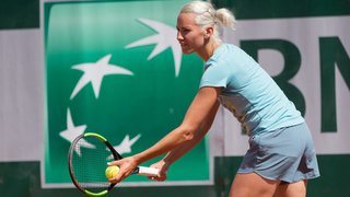 Conny Perrin en quart de finale à Singapour