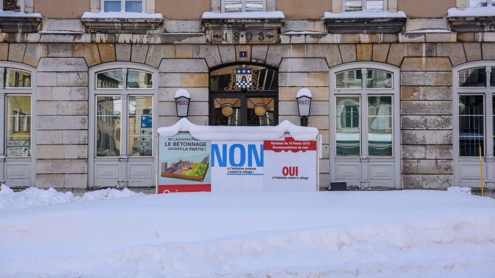 A La Chaux-de-Fonds, tout comme en ville de Neuchâtel, les électeurs ont accepté l'initiative contre le mitage.