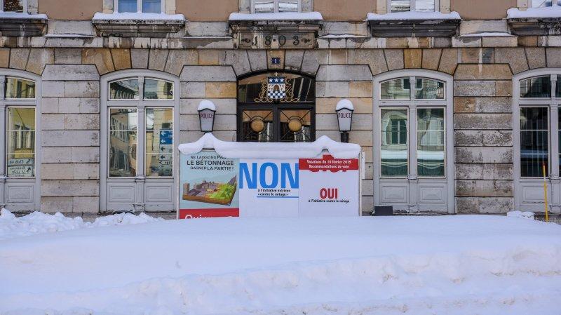 Initiative contre le mitage: oui à Neuchâtel et La Chaux-de-Fonds, non cantonal