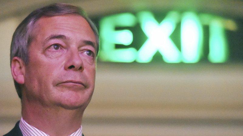 """Royaume-Uni: fondation d'un """"Parti du Brexit"""" soutenu par l'eurodéputé Nigel Farage"""