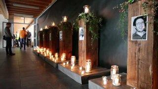 Des milliers de personnes aux funérailles des six Bernois morts en Suède