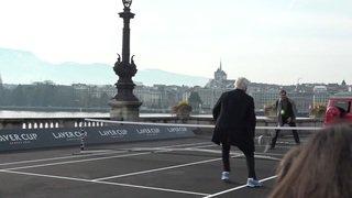 Roger Federer et Bjorn Borg ont lancé à Genève la 3ème édition de la Laver Cup