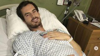 Le tennisman Andy Murray s'est fait poser une hanche en métal