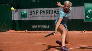 Conny Perrin franchit son premier tour de qualifications à Roland-Garros