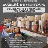 Marché de Printemps - Saint-Martin
