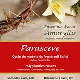 Parasceve - Cycle de motets du Vendredi Saint