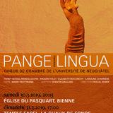 Pange Lingua chante 4 compositrices