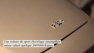 Un bolide électrique suisse présenté à Genève