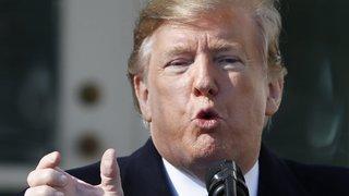 Trump en force sur son mur