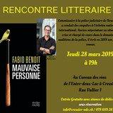 Rencontre littéraire avec Fabio Benoît