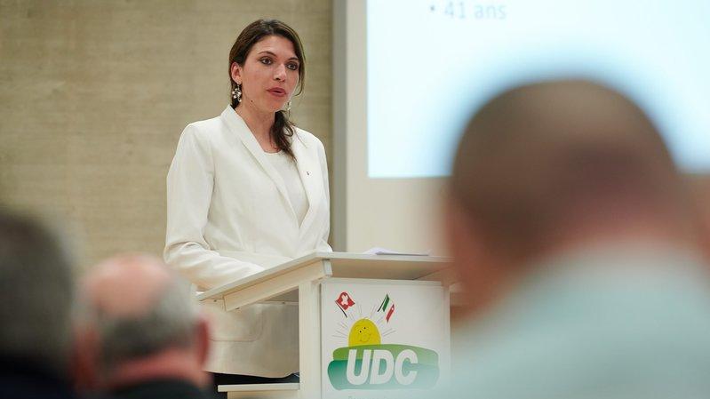 La candidate UDC Olga Barben, non choisie pour le National, exige des excuses