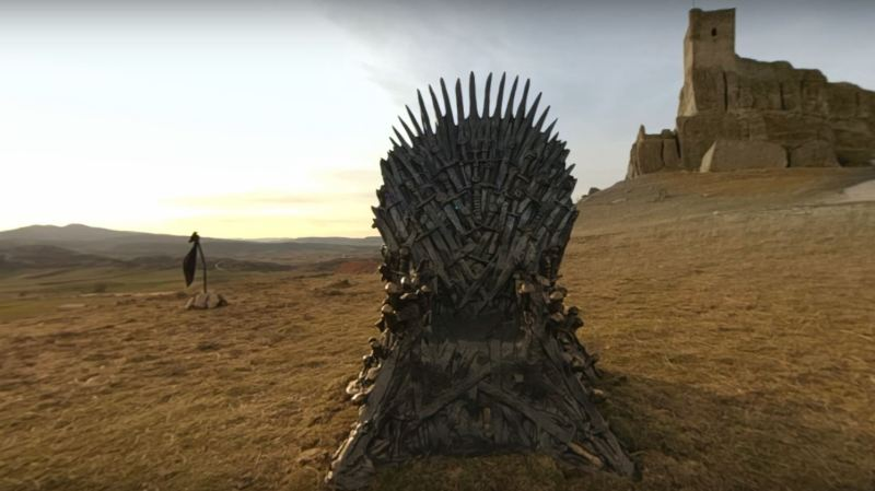 Culture: pour sa dernière saison Game of Thrones a caché six trônes de fer dans le monde