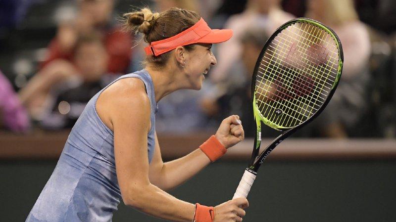 Tennis – Indian Wells: Belinda Bencic déclasse la no 1 mondiale