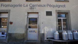 Soutien à la fromagerie du Cerneux-Péquignot