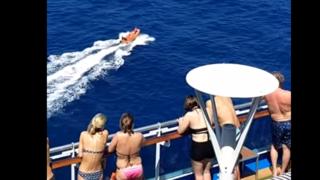 Leur avion s'abîme dans l'océan Atlantique, un paquebot de croisière vient les sauver