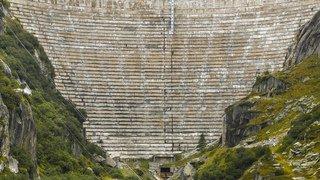 Berne: les travaux du barrage-voûte sur le lac de Grimsel démarreront cet été et dureront six ans