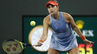 Tennis-Indian Wells: Belinda Bencic s'incline en demi-finale