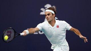 Tennis: il a fallu 3 sets à Federer pour battre le Moldave Albot et se qualifier pour le 3e tour à Miami