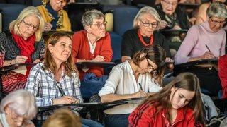 Dictée à Neuchâtel: Marceline, 87 ans, 0 faute