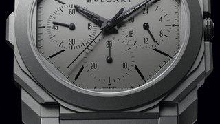 Bulgari révèle le chrono le plus fin du monde