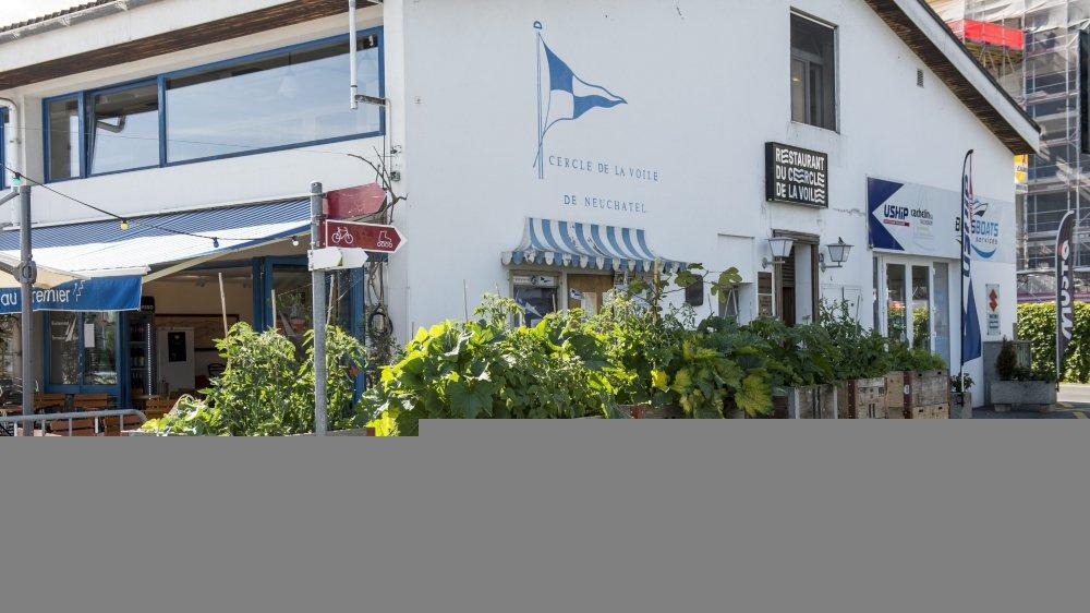 Le restaurant du Cercle de la voile, à Neuchâtel, est au coeur d'une bisbille entre les gérants et le comité du club nautique.