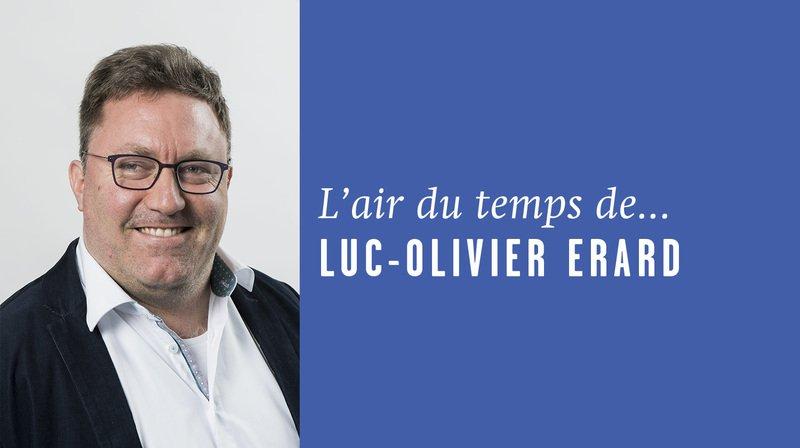 «Usine qua non», l'air du temps de Luc-Olivier Erard