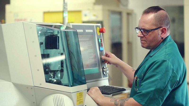 Fleurier: des machines plus «smart» chez Vaucher Manufacture