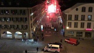 Des policiers agressés à Berne par des fans des Young Boys
