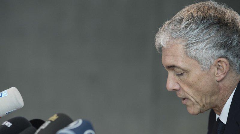 Affaire FIFA: le procureur de la Confédération Michael Lauber sur la sellette