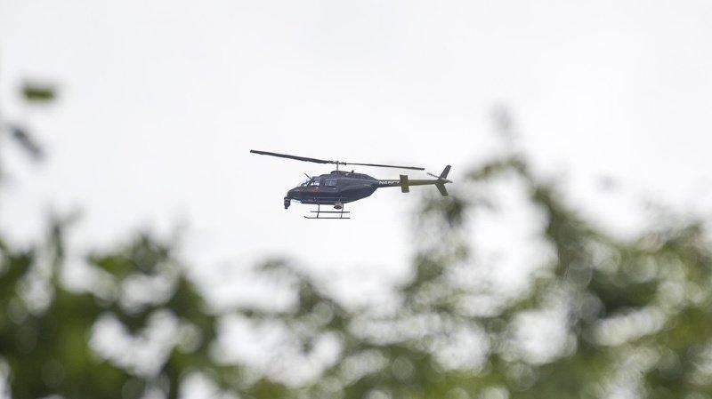 France voisine: crash d'un hélicoptère, pas de victime
