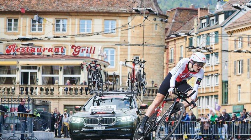 Le prologue du Tour de Romandie n'a pas provoqué de chaos sur les routes neuchâteloises