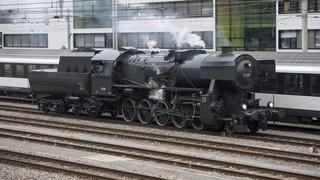 A toute vapeur, sur rails et sur l'eau avec le Vapeur Val-de-Travers