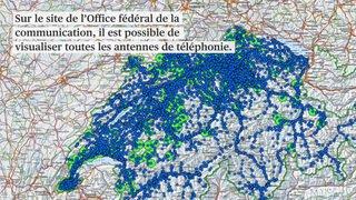 Téléphonie mobile: habitez-vous à côté d'une antenne 5G?