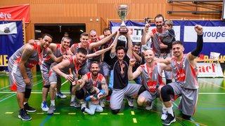 Val-de-Ruz Basket champion de première ligue!