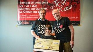 Solidarité Nord-Sud: le Tour du cœur offre 10000francs