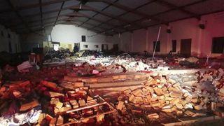 Afrique du Sud: au moins 13 morts dans l'effondrement du toit d'une église