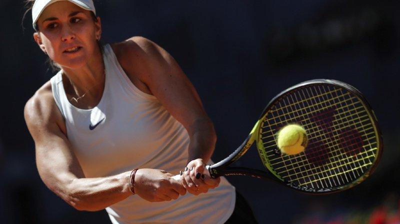 Tennis: Belinda Bencic bat la Lettone Sevastova, numéro 13 mondiale, et passe au 2e tour à Rome