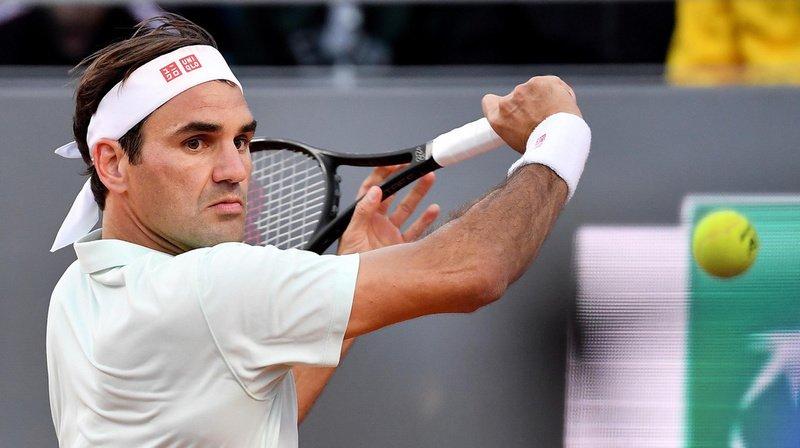 Tennis - Roland-Garros: Roger Federer s'est entraîné sans souci apparent