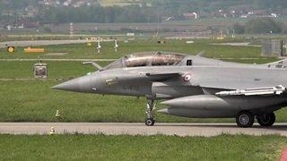 Le Rafale testé par l'armée suisse à Payerne