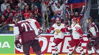 Hockey - Mondiaux 2019: la Russie envoie quasiment la Suisse en quarts de finale