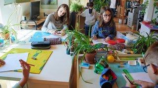 Pas de note, pas de triche: reportage dans les classes de La Grande Ourse à La Chaux-de-Fonds