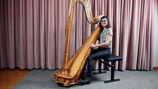 Un regain d'intérêt pour la harpe pousse le Conservatoire neuchâtelois à agrandir son parc d'instruments