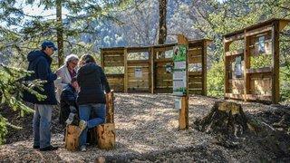 Un jardin pour les mineurs et pour la nature à la Presta