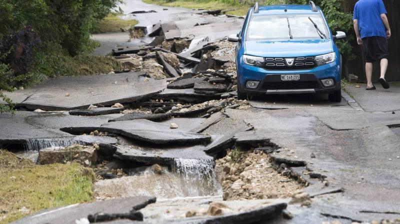 Intempéries au Val-de-Ruz: la personne grièvement blessée est décédée
